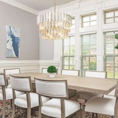 Beautifully designed dining room